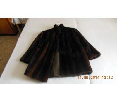 cb69a8ab7b5 Dámský kožený kabát a kožichy
