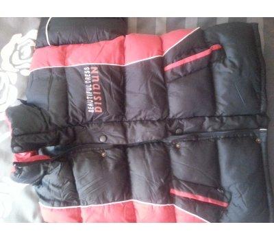 Chlapecká bunda-velice tepla-5 dnu nosena