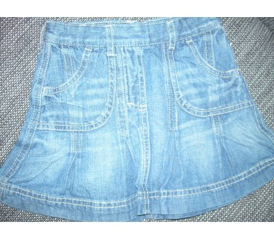 Dívčí jeansová sukně Lupilu