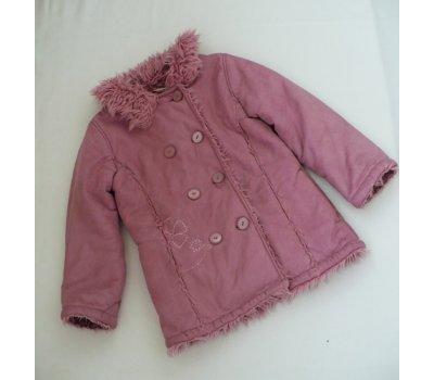 Dívčí starorůžový kabát George 5/6 let