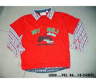 Chlapecká košile Lego 18-24 měsíců