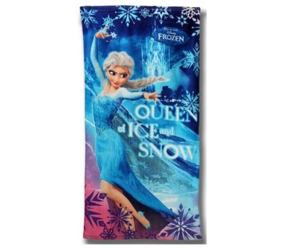 Plážová osuška Frozen Ledové království Elsa Disney