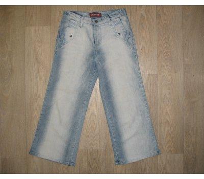 Riflové 3/4 kalhoty LELOWTH JEANS, vel. 27