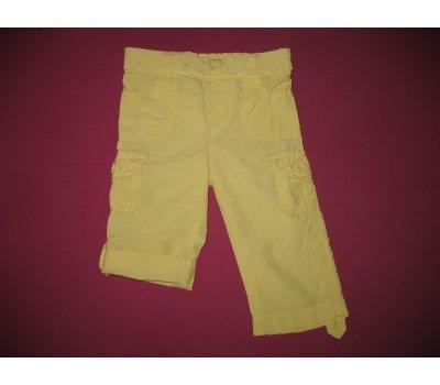Letní kalhoty / tříčtvrťáky, vel. 80 (12 měs.) Greendog