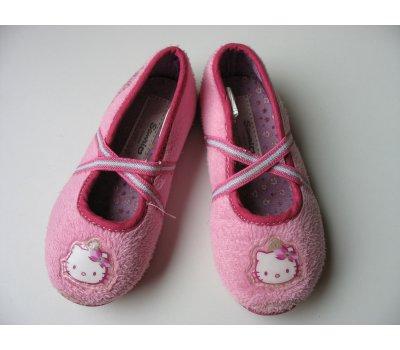 Dívčí domácí obuv Hello Kitty, vel. 24 Sanrio