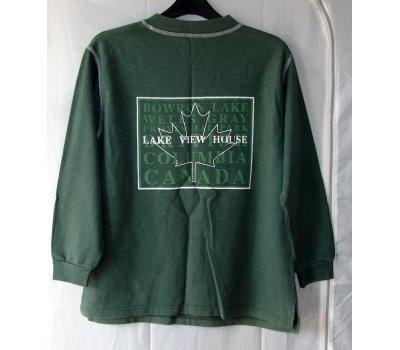0263 Pánská mikina zelená M