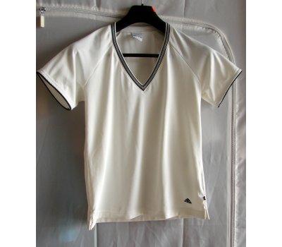 0029 Bílosmetanové tričko S Adidas Adidas