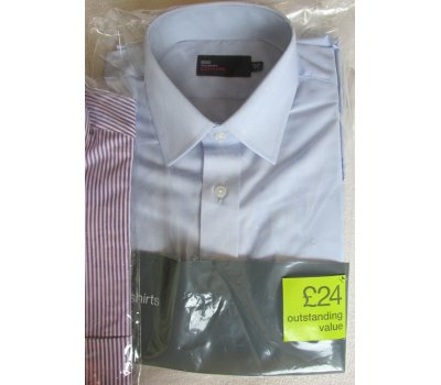 Pánská košile Marks & Spencer dlouhý rukáv